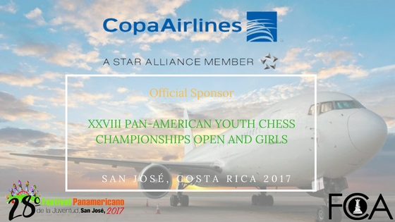 Costa Rica Chess Federation give the welcome: