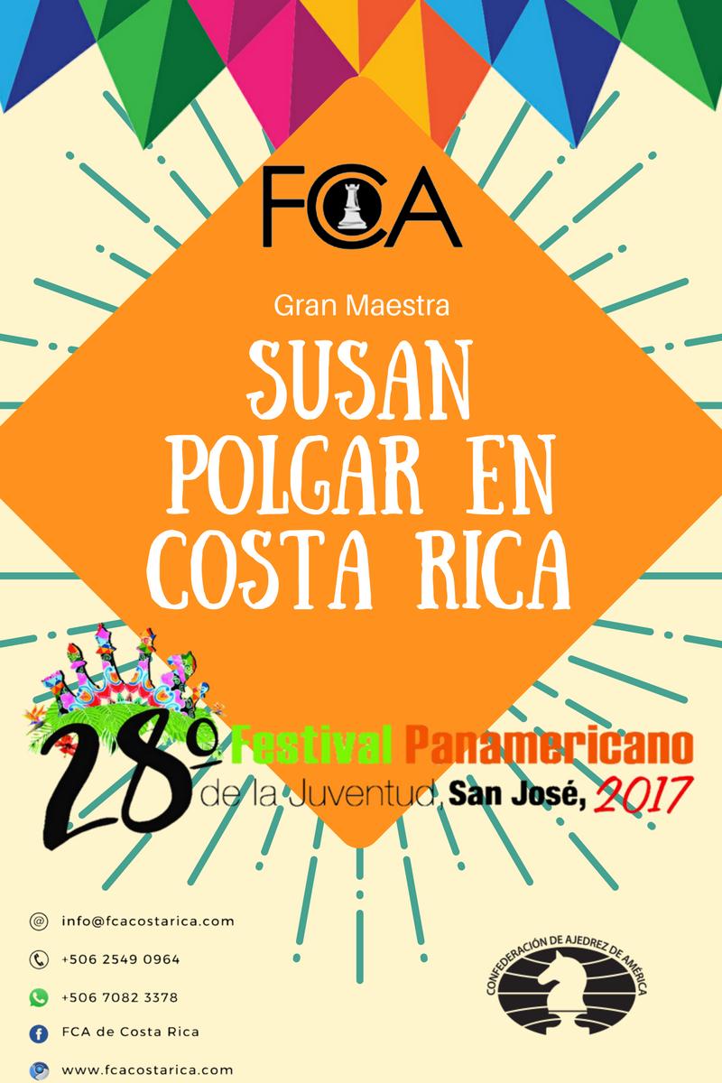 Seminario con Susan Polgar: Paquetes de Hospedaje