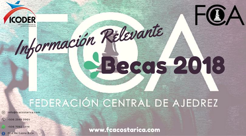 Solicitud de Becas del Instituto Costarricense del Deporte y la Recreación 2018