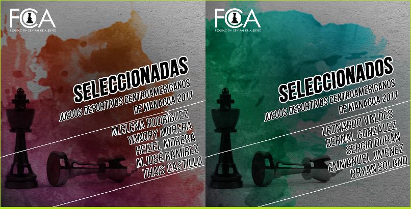 Selecciones para Juegos Deportivos Centroamericanos 2017