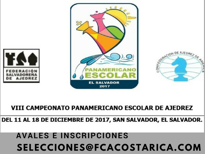 Listado de Jugadores Oficiales Panamericano Escolar 2017