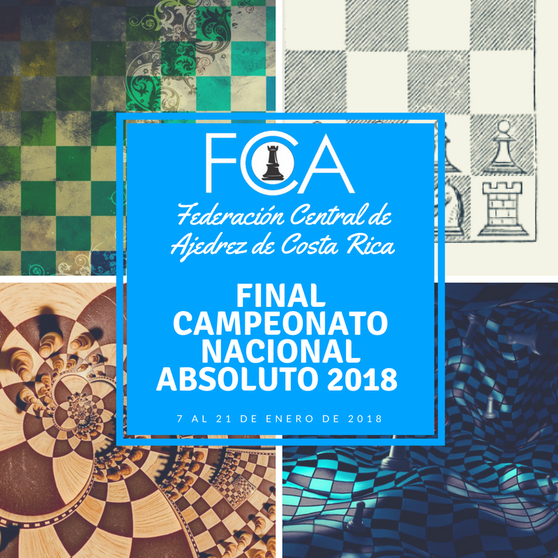 Convocatoria: FINAL CAMPEONATO NACIONAL ABSOLUTO 2018
