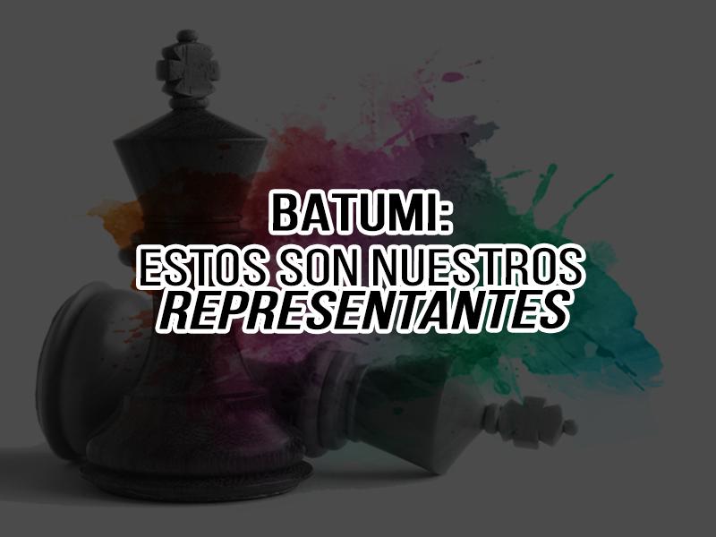 Olimpiada Batumi: Conozca la historia de nuestras seleccionadas y seleccionados