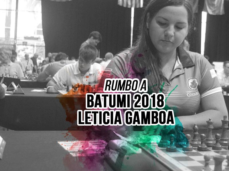 Rumbo a Batumi: Leticia Gamboa