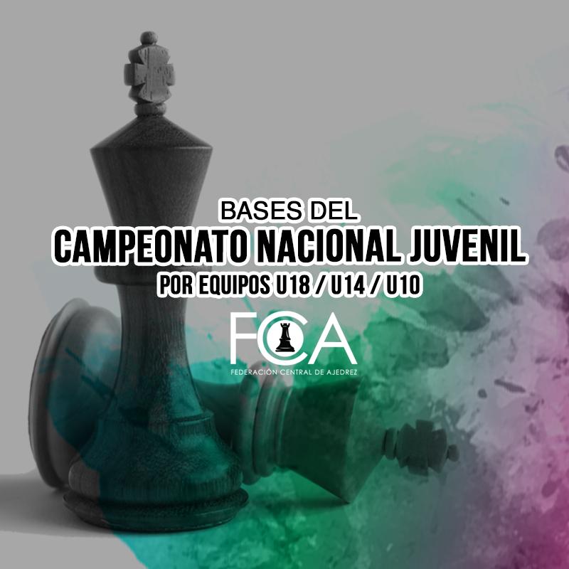 Bases del Campeonato Nacional Juvenil por Equipos U18 / U14 / U10