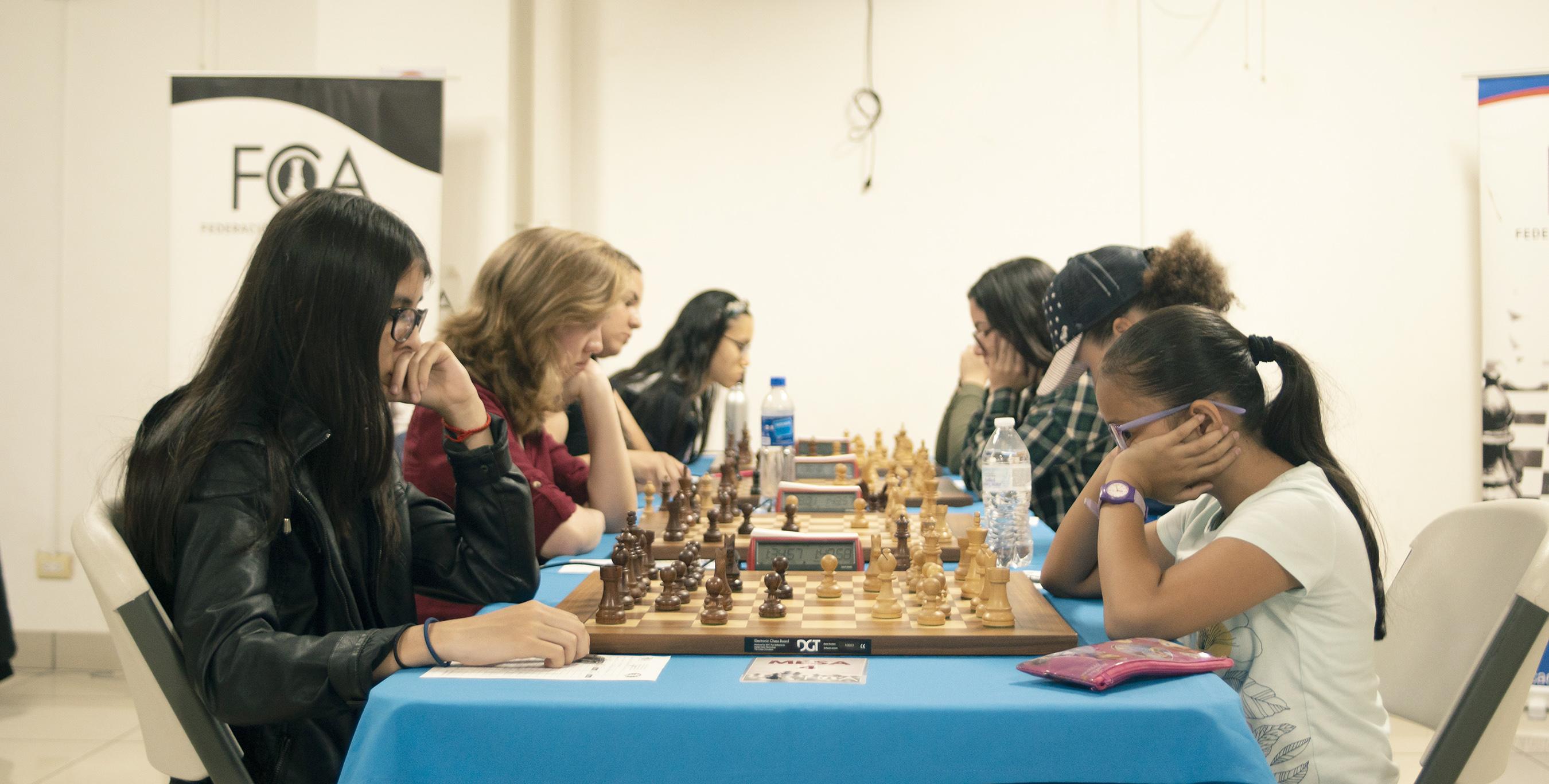 Emparejamientos y Resultados Final Campeonato Nacional Femenino 2019