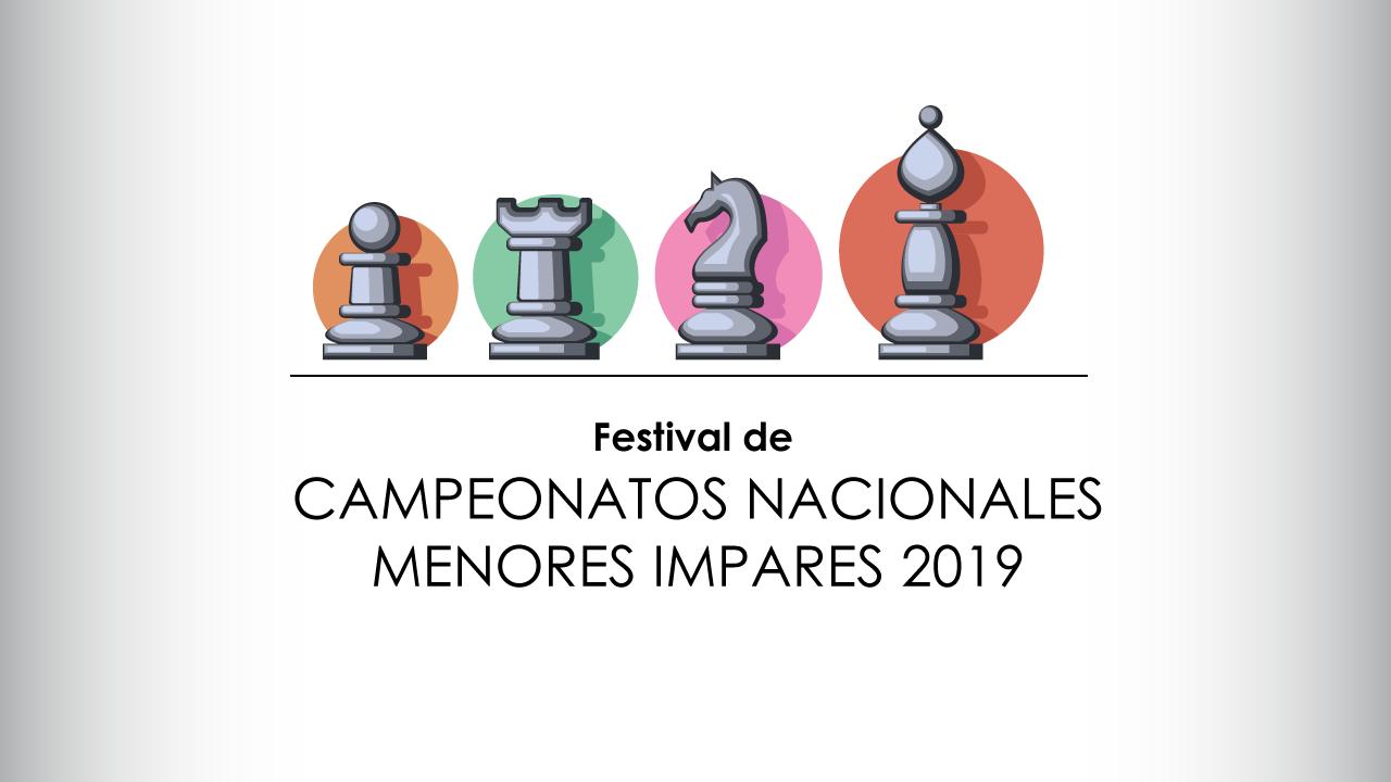 FESTIVAL DE CAMPEONATOS NACIONALES MENORES IMPARES 2019