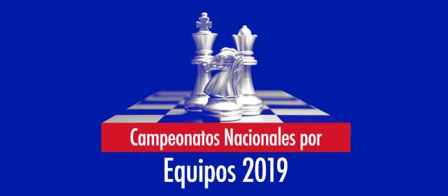 Comunicado Campeonato Nacional por Equipos Rapid 2019.