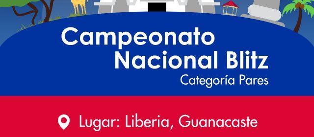 CAMPEONATO NACIONAL BLITZ DE CATEGORÍAS MENORES