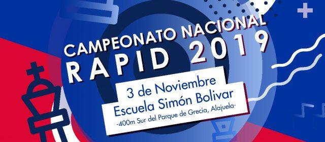 CAMPEONATO NACIONAL RAPID 2019