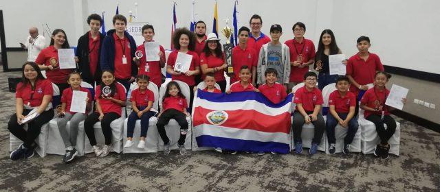 COSTA RICA CAMPEÓN CENTROAMERICANO Y DEL CARIBE DE CATEGORÍAS MENORES