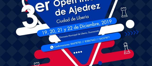 TERCER OPEN INTERNACIONAL DE AJEDREZ