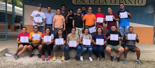 FCACR CONTINÚA CAPACITANDO PROFESORES