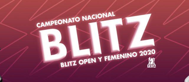 CAMPEONATO NACIONAL BLITZ OPEN Y FEMENINO 2020
