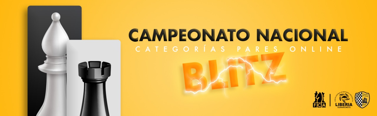 BASES ESPECÍFICAS CAMPEONATO NACIONAL BLITZ DE CATEGORÍAS PARES EN LÍNEA 2020
