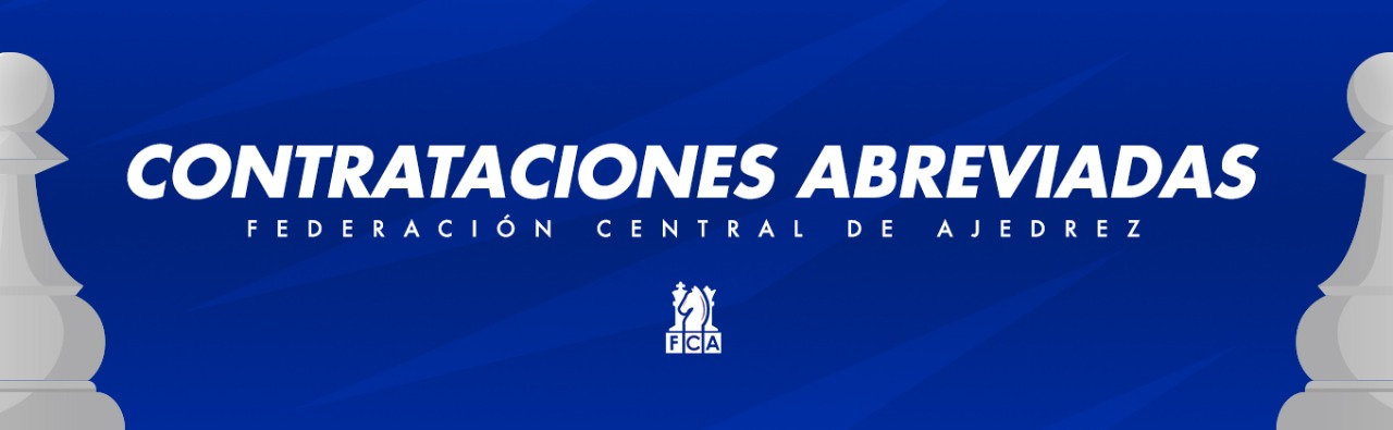 "LICITACIÓN ABREVIADA FCACR-CA2021-04 ""CONTRATACIÓN DE UN ENTRENADOR (A) PARA LA SELECCIÓN NACIONAL FEMENINA DE AJEDREZ"""