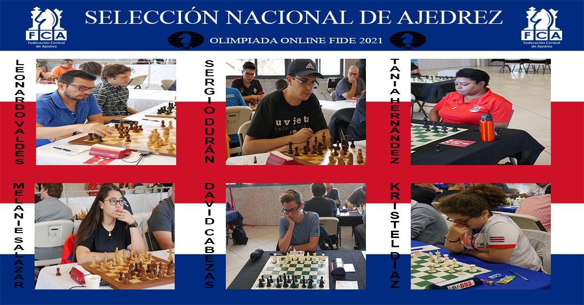 SELECCIÓN NACIONAL DE AJEDREZ ALISTA EL DEBUT EN LA OLIMPIADA ONLINE